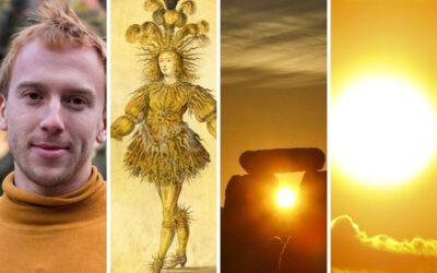 Sluneční symbolika v demonstraci za svržení české vlády na letní slunovrat