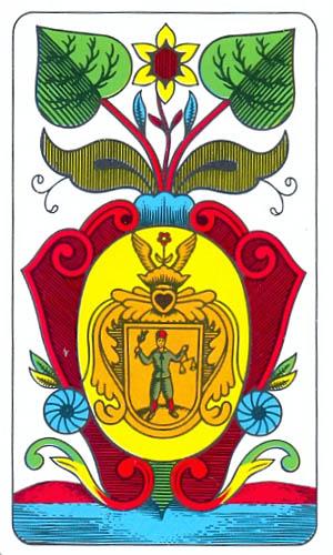 zelené eso význam věštění z mariášových karet