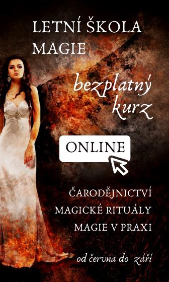 Letní škola magie on-line kurz čarodějnictví